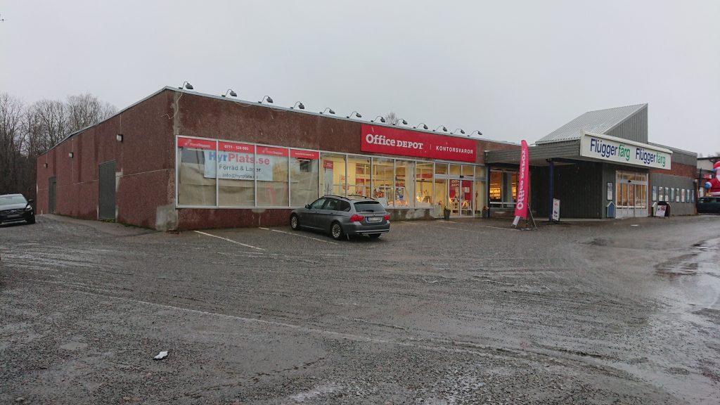 Förrådslokaler på Kungsgatan 61 i Hudiksvall.